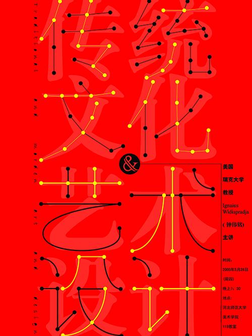 传统文化与艺术设计海报 Traditional Culture and Art and Design