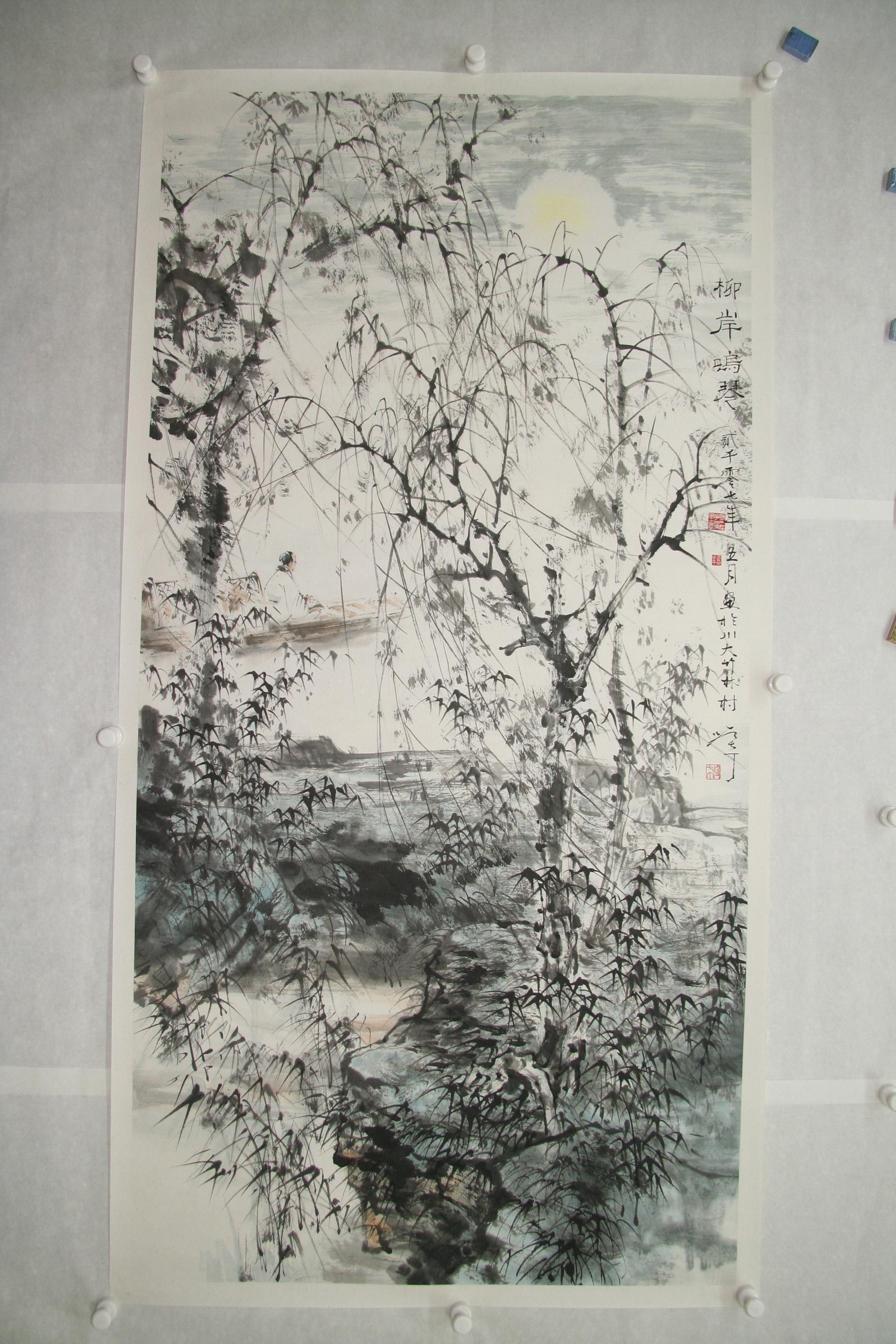 竹亭清夏3 Bamboo Pavilion in Summer 3