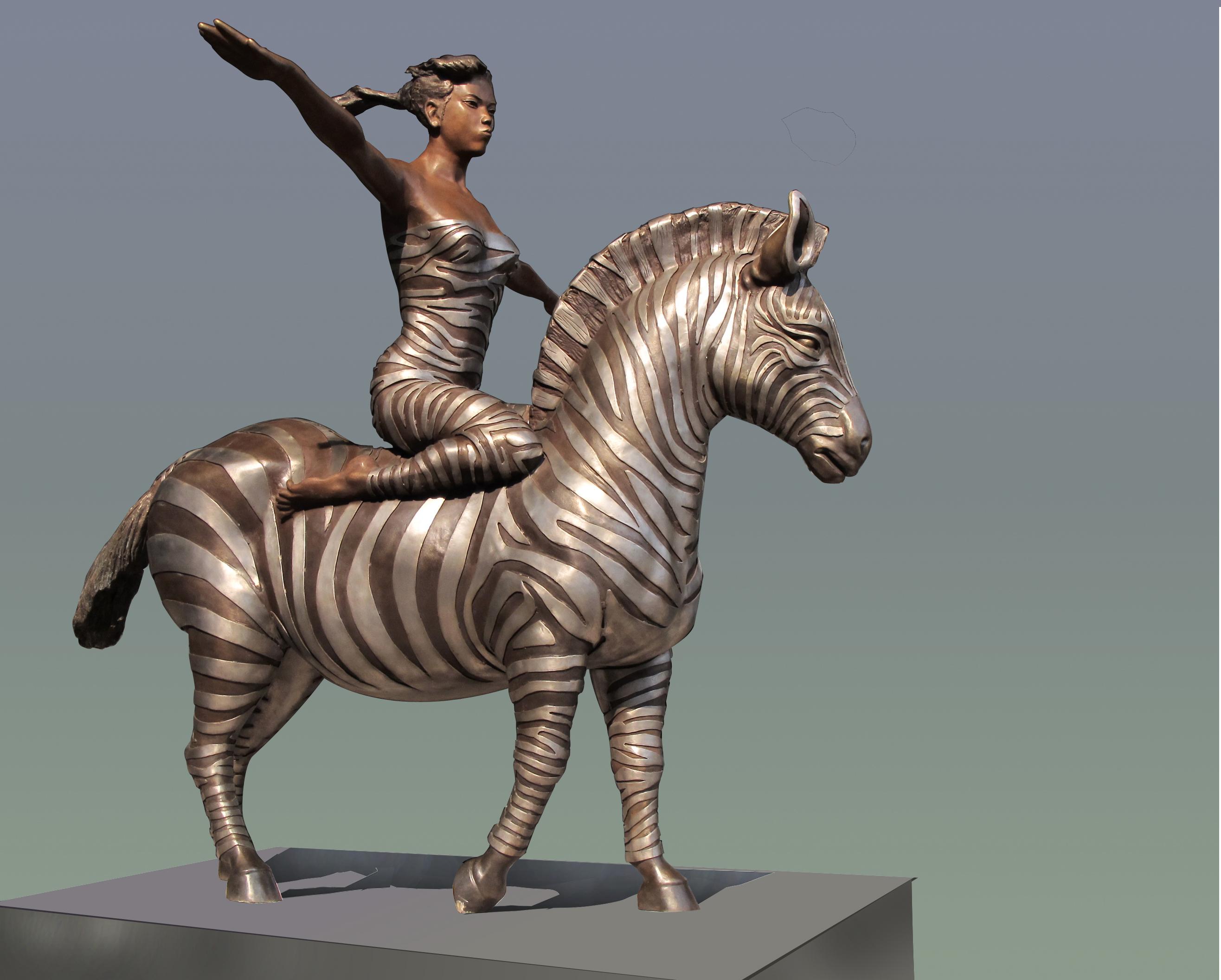 斑马可以骑吗  Can Zebra Be Ride
