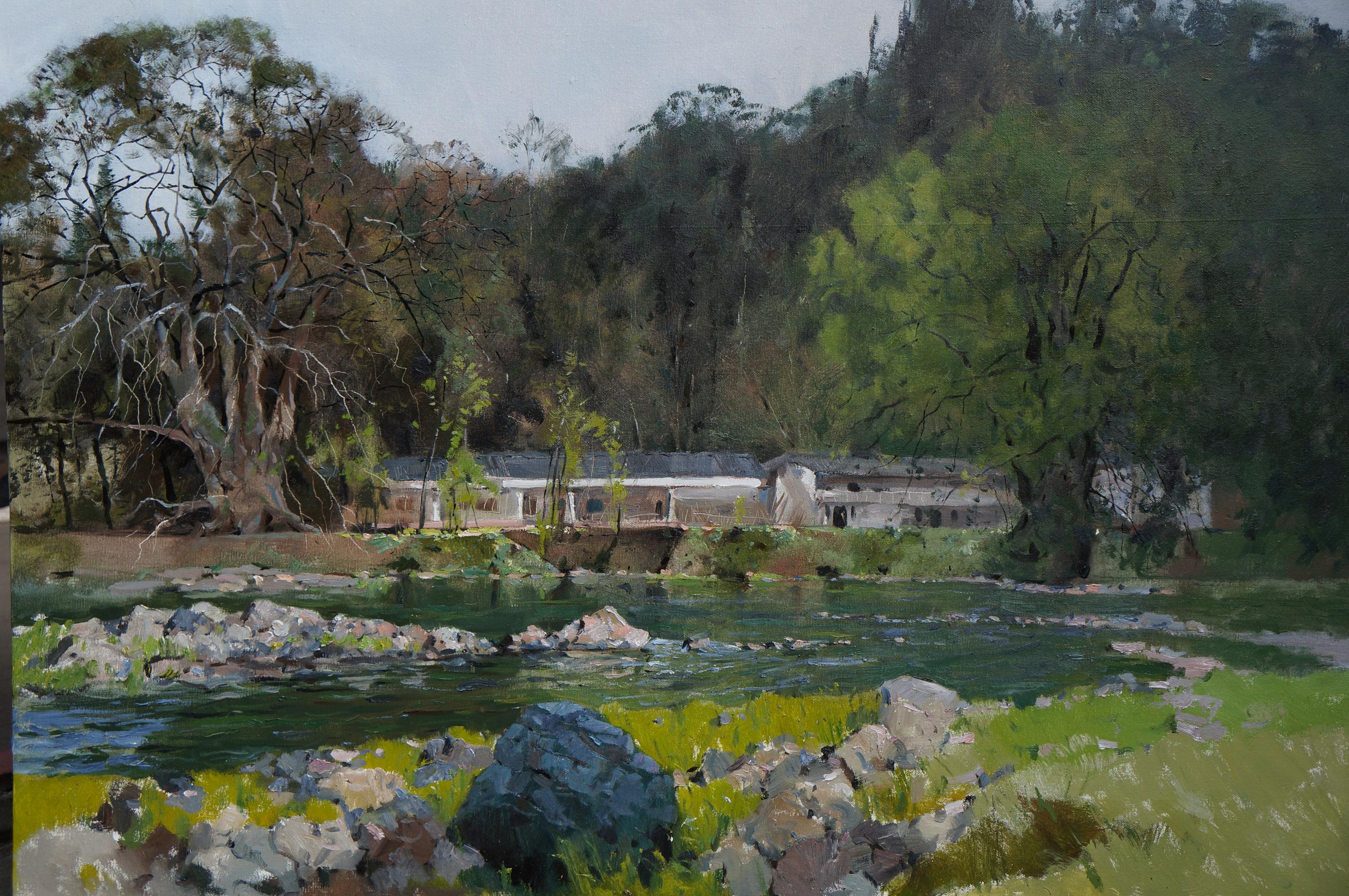 柳江风景之一  Liujiang Scenery 1