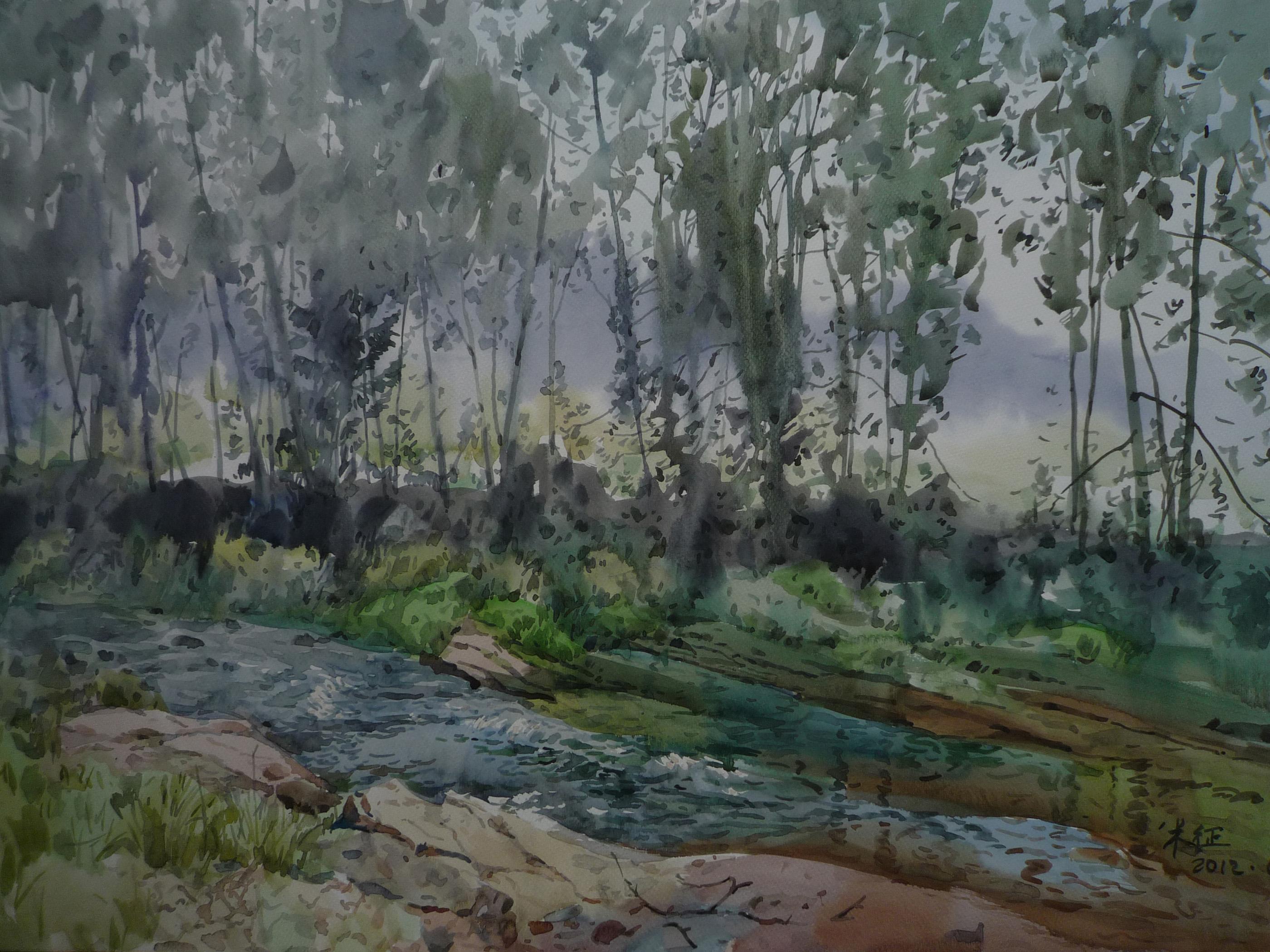 小溪 Rill