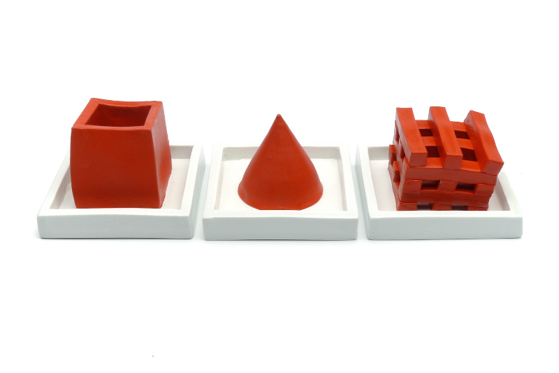 Rectangle, Cone, Grid